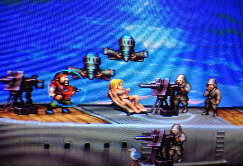 Kraut Buster: nuevo lanzamiento para Neo Geo en 2015, spin off del gran Metal Slug por NG:Dev.Team Battleship_5_840wx